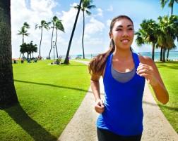 Running in Waikiki
